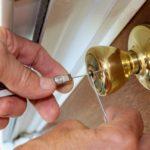 Locksmith Picking a Lock